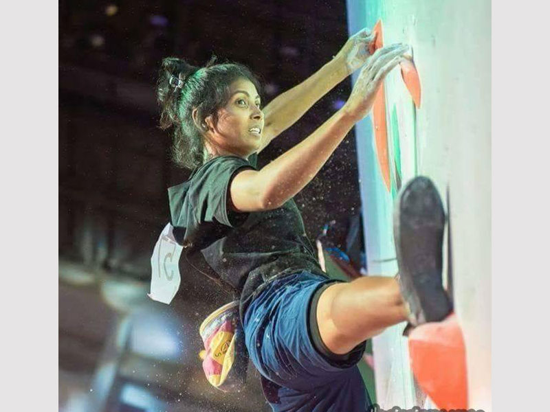 This young girl who has achieved feats that her coetaneous could only dream of. A gold medalist in East Zone Climbing Championships and a finalist in national climbing championship, Khushboo Kumari, bags a spot in the top climber's female category. The team is bound to perform its best with a girl of such capabilities.